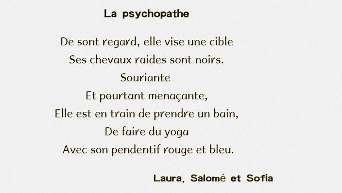La psychopathe